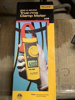 Fluke 336 Trms Clamp Meter Soft Case New