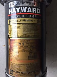 Hayward Inground 1HP Pool Pump - AS IS!  $50 obo