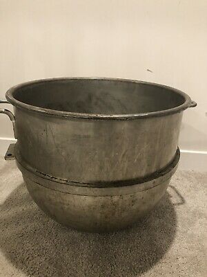 Stainless-steel Mixing Bowl Hobart 80qt. Mixer