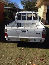 Duel cab ford courier manual Doonside Blacktown Area Preview
