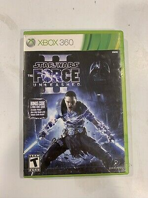 Star Wars: The Force Unleashed 2 (Microsoft Xbox 360, 2010)