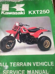1984 Kawasaki KXT250 ATV Service Manual