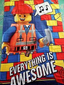 **BRAND NEW** The LEGO® MOVIES TOWEL *Everything is Awesome* Rooty Hill Blacktown Area Preview