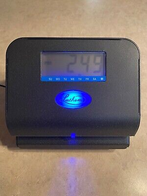 Lathem 800p Thermal Print Time Clock - Used With Power Cable