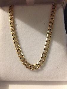 9ct solid gold necklace 11.16grams Greenfields Mandurah Area Preview