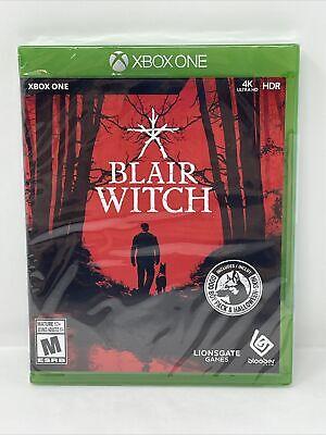 Blair Witch (Microsoft Xbox One, 2020) Brand New Sealed Game HORROR 4k