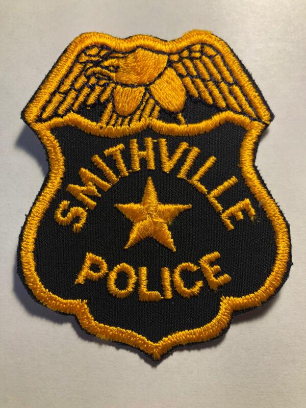 Vintage Smithville Police Patch
