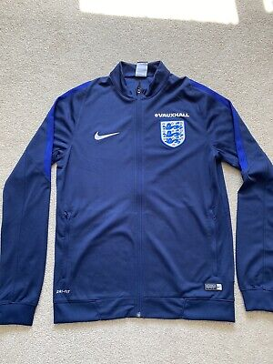 Official England Nike DriFit Full Zip Training Top New Without Tags See Desc