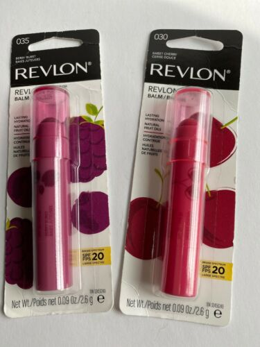 Revlon Kiss Lip Balm, SPF 20, 0.09 oz