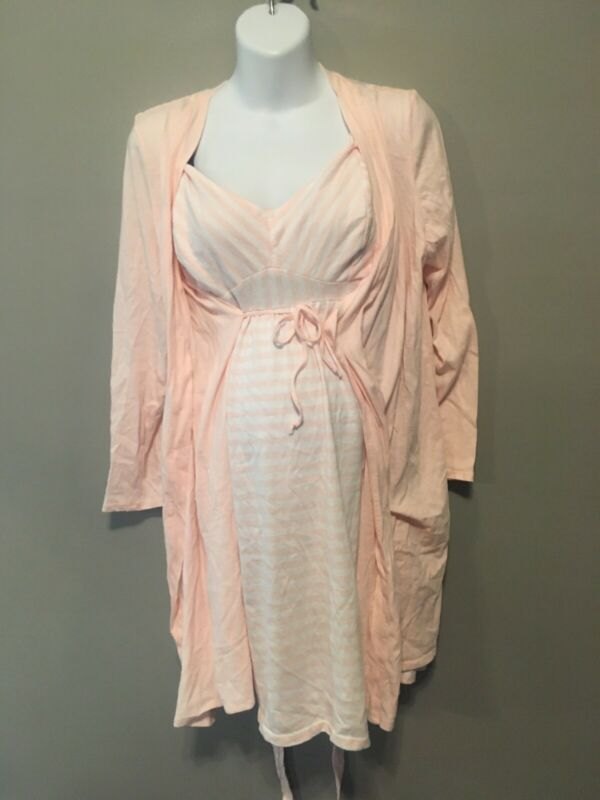 A Bump In The Night Xl Hidden Discreet Nursing Nightgown