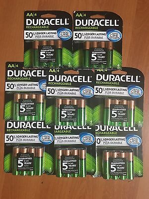 32 Duracell  AA. Rechargeable