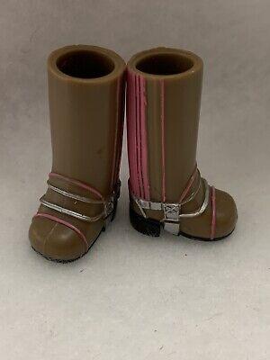 "Bratz Kidz Horseback Fun 7"" Yasmin Doll Brown Pink Tall Boots"