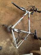 Apollo aluminium mountain bike frame and forks North Melbourne Melbourne City Preview