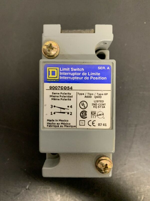 Wow! *NEW* Square D 9007C54L Limit Switch