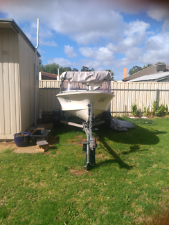Savage 16ft runabout fishing boat