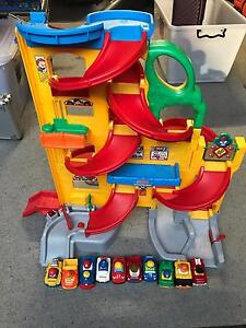 Fisher Price Little People Wheelies Stand n Play Rampway Hamilton South Newcastle Area Preview