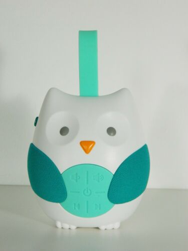 Skip Hop Baby Sound Machine Soother Blue Owl Car Seat Stroller Portable Clip On