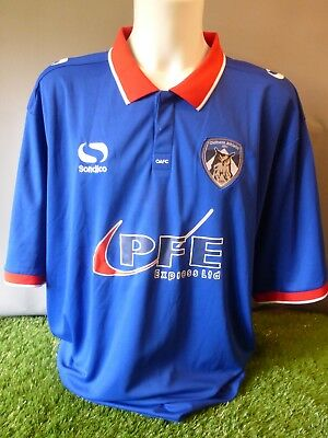 Oldham Athletic Football Shirt Home Adult 4XL 2015/16 Sondico image