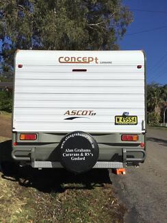 Triple bunk caravan Morisset Lake Macquarie Area Preview