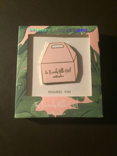 Beverly Hills Hotel - Beverly Hills, Ca. official pink enamel pin