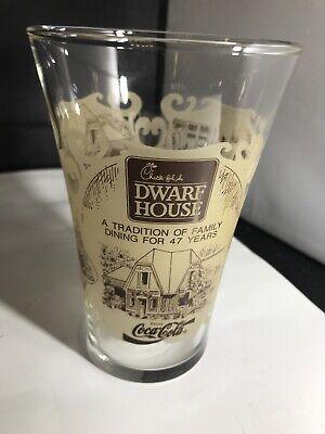 1993 Vintage Chick-fil-a Dwarf House Coca Cola 12 Ounce Drinking Glass Mug NEW