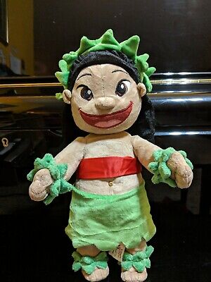 Disney Plush Lilo in hula outfit from