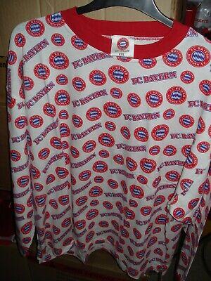 Schlafanzug-Oberteil Sweatshirt Bayern München  XXL Deutschland Fussball Fußball Sweatshirt