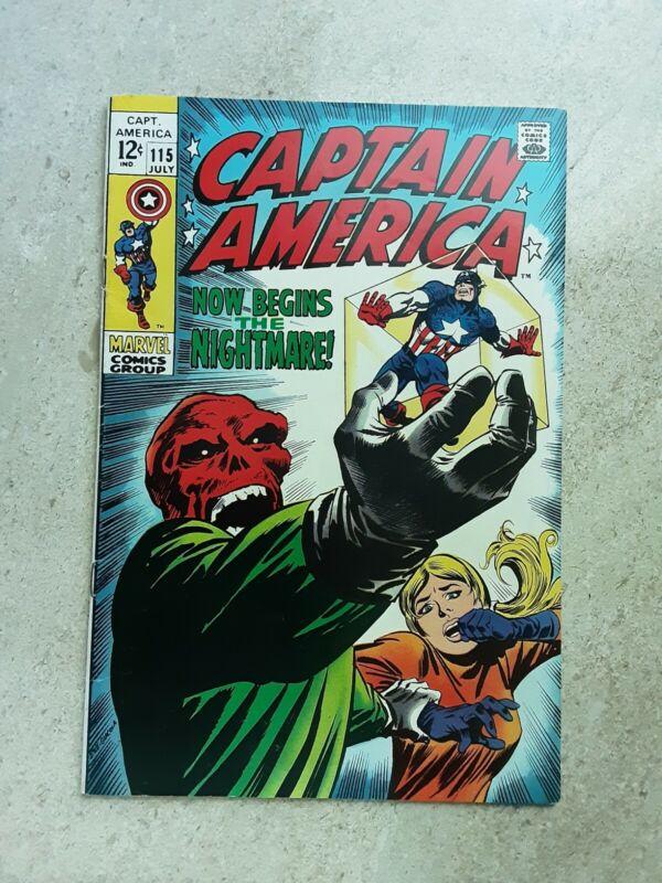 Captain America 115, July 1969