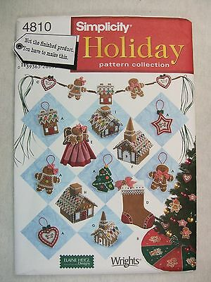 Christmas Decorations sewing pattern 4810 S See Full Listing Info