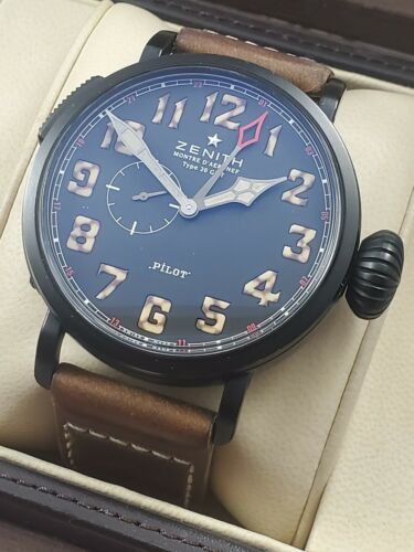 ZENITH Pilot Type 20 GMT 96.2431.693 Limited 1903 Automatic Men's Watch 48MM B/P - watch picture 1
