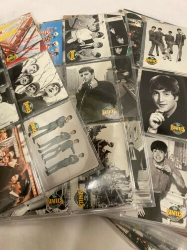 The Beatles Collection 1993 River Group Collectable Cards-- Lot of 650