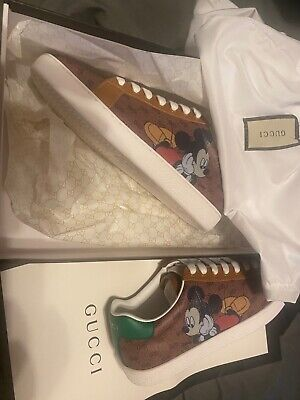 gucci shoes mickey edition eur36