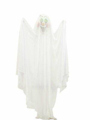 Fasching Halloween Deko Figur Hängefigur Gespenst UV aktiv Schwarzlicht Geist