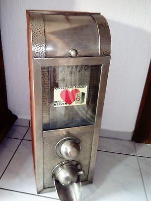 antike Kaffeeschütte, Kaffeebehälter, Kaffeedose, Werbung alte Kaffeeschütte