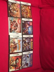 7 Nintendo DS games+ 1 3DS game