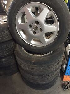 """Ts Astra 4 stud 15"""" factory alloy mags Lonsdale Morphett Vale Area Preview"""