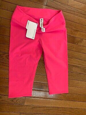 Fabletics leggings capri NEW, Pink, Size L