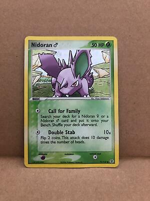 **MINT* Nidoran - 71/112 - Common Reverse Holo Pokemon Ex Fire Red & Leaf Green