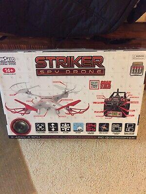 Striker Spy HD-Camera Drone - World Tech Toys