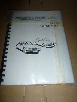 Jaguar S3 XJ12 Spare Parts Catalogue
