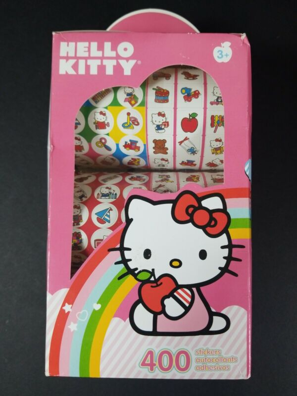 Hello Kitty 400 Sticker In a Box FREE SHIPPING