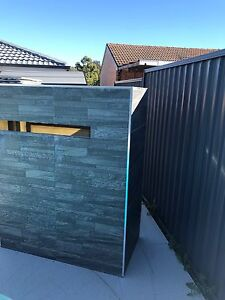 Swimming pool water feature/spillway/water blade/slump glass St Clair Penrith Area Preview