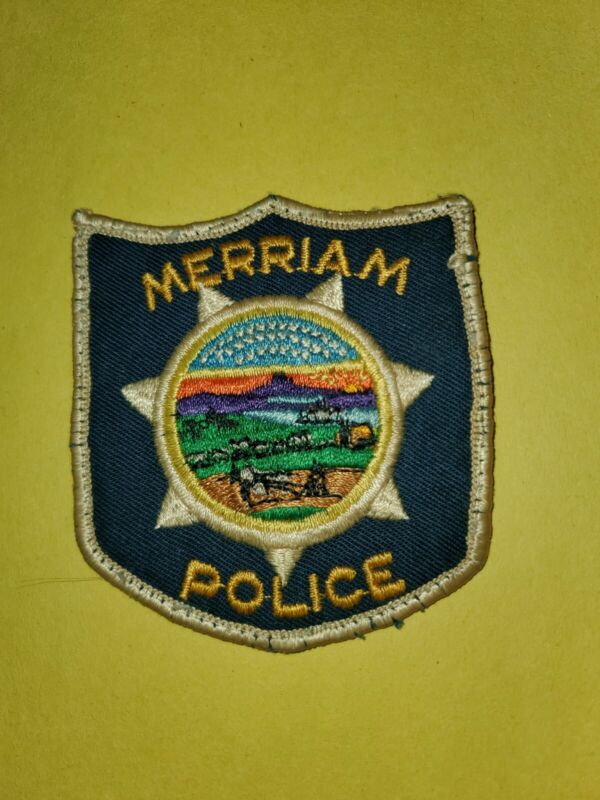 Old Style Merriam, KS Police patch