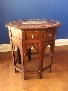 Anglo Indian Table (1910)