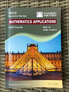 Mathematics Applications Year 12 ATAR