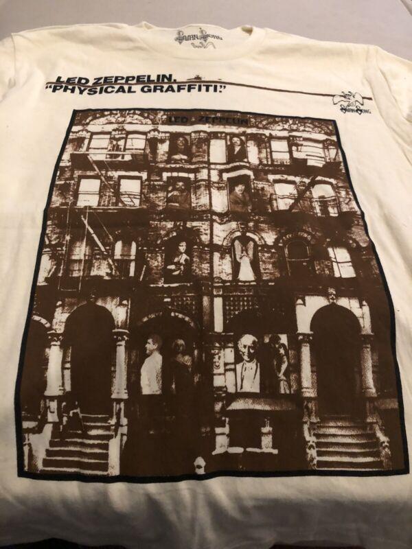 Led Zeppelin Swan Song T Shirt Physical Graffiti Sz S New Never Worn