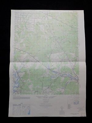 1940's MAP OF TUCKAHOE, NEW JERSEY BY THE ARMY MAP SERVICE TOPOGRAPHICAL 6062 IV