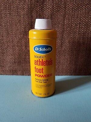 (Vintage Dr Scholls Foot Powder Can / Tin)