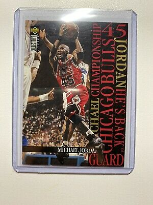 Michael Jordan 95 96 Upper Deck Collectors Choice Card #M4