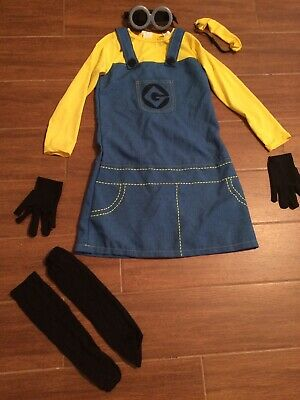 Despicable Me Female Minion (Rubies Female  MINION DESPICABLE ME CHILD GIRLS HALLOWEEN COSTUME Size)